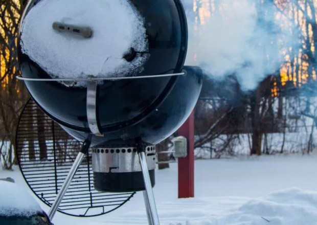 10 useful tips for winter barbecuing