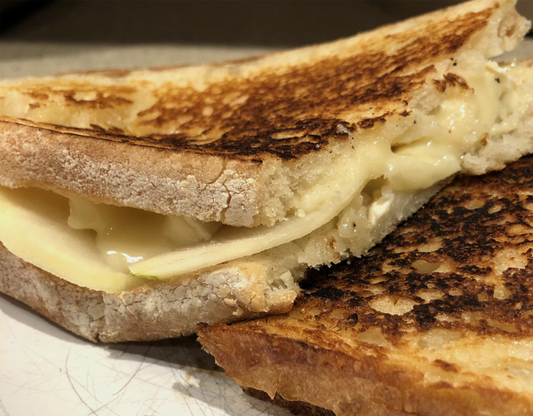Upgrade your grilled cheese game