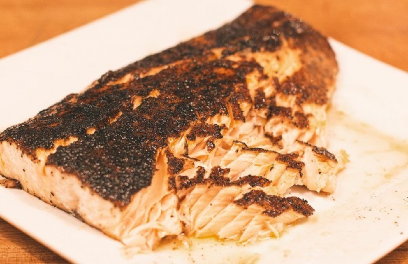 Maple butter salmon