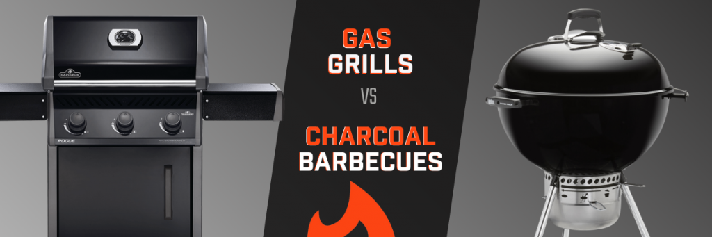 Gas Grills vs Charcoal Barbecues