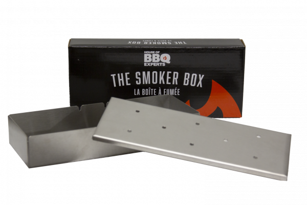 Smoker box for gas grill