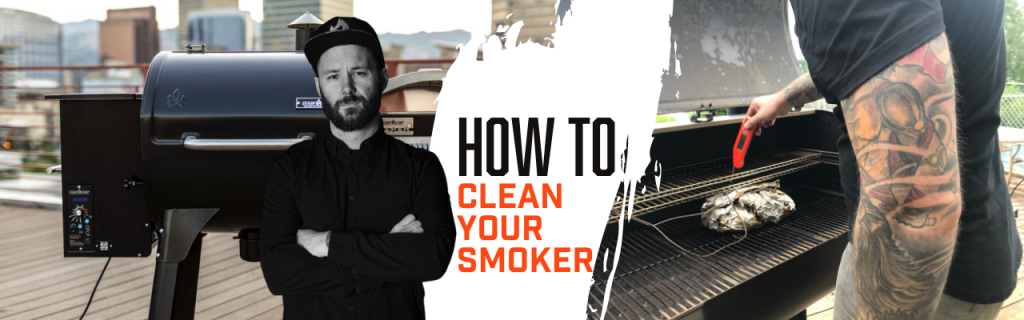 Cleaning your offset smoker
