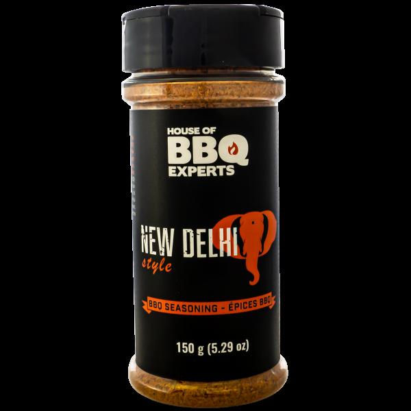 New Delhi bbq rub
