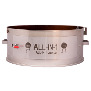 All-In-1 Charcoal BBQ (Kettle) 22''