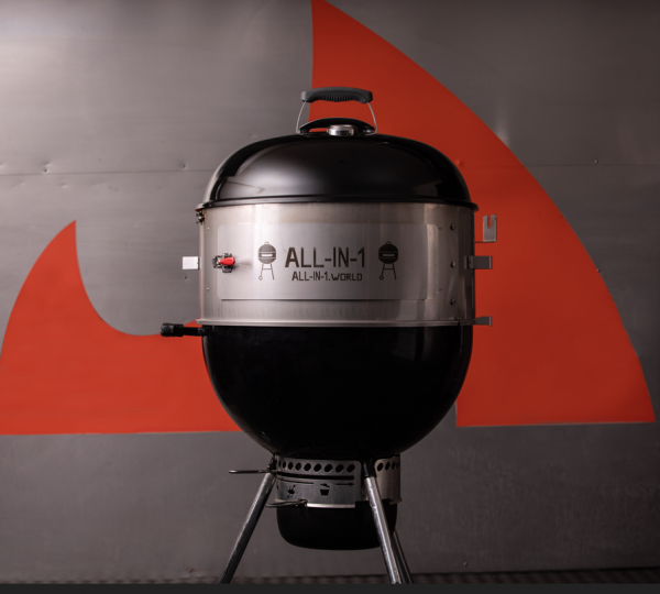 All-In-1 Charcoal BBQ (Kettle) 22'