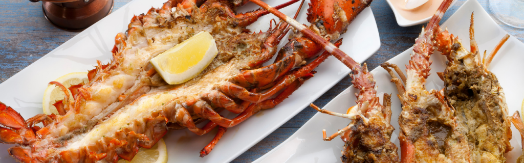 Butter and Lemon Lobsters