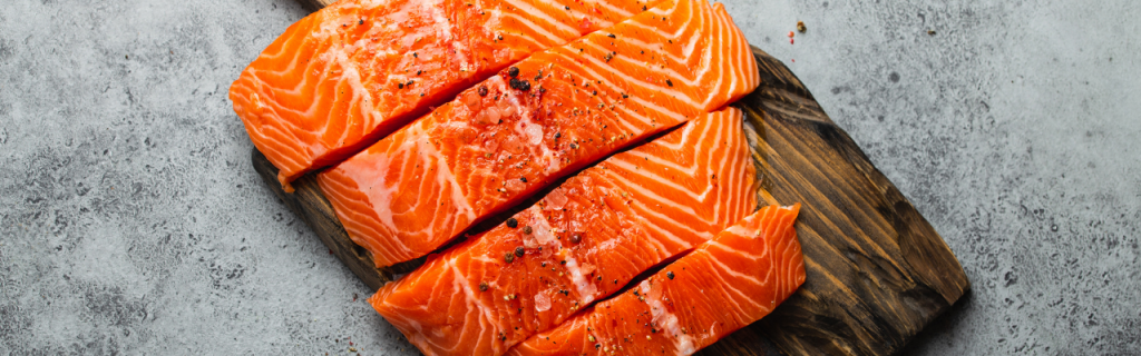 Cold Smoked Salmon Steaks