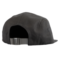 Adjustable Cap with Black Flame